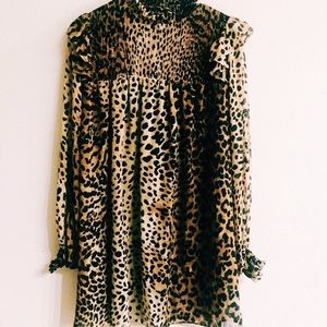 Leopard Mini-Dress